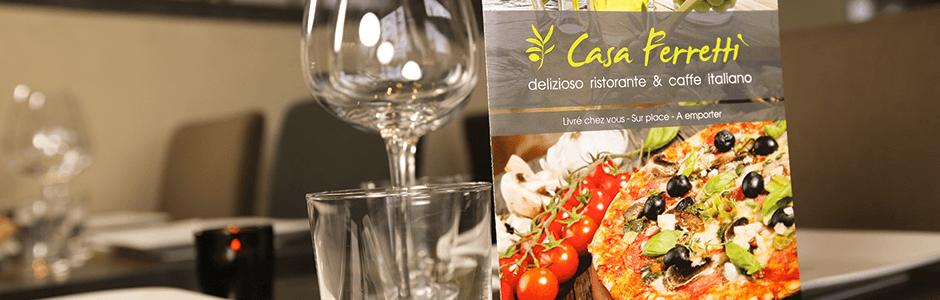 Casa Ferretti : Restaurant italien à Bordeaux